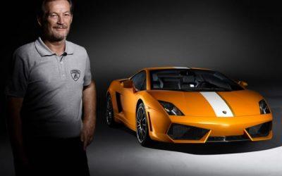 Legendary Lamborghini Driver Valentino Balboni at Area 27
